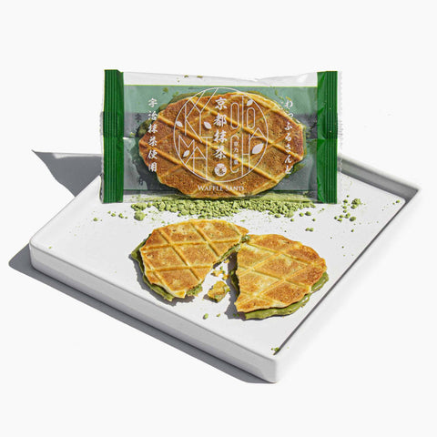 A green tea waffle snack that all your employee's would appreciate.