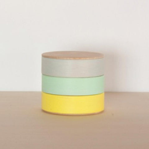 Painted Wood Containers: Small
